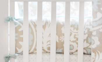 Picket Fence Crib Bumper