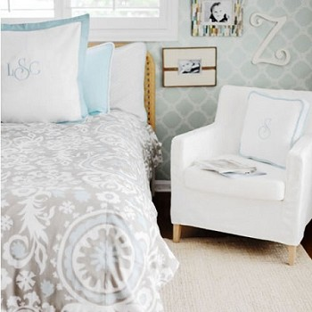 Suzani Bedding  |  Picket Fence Collection