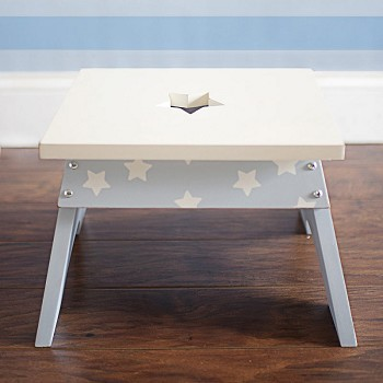 Blue Star Stool