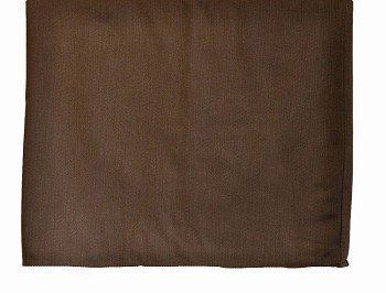 Custom Chocolate Twill Full Size Bedskirt