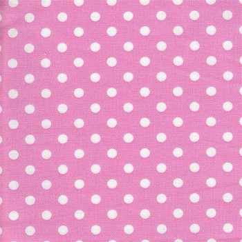 Itsy Bitsy Dots in Pink Fabric