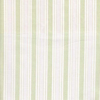 Powder Stripe in Pink and Sage Fabric