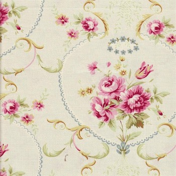 Rose Portrait Fabric