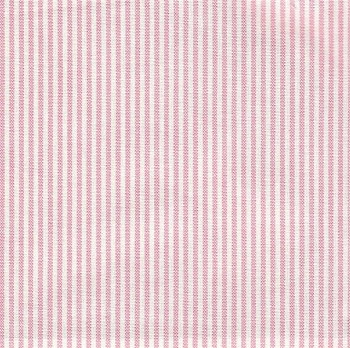 Thin Pink and White Stripe Fabric