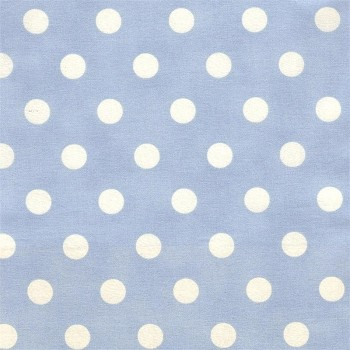 Vintage Blue Dottie Fabric