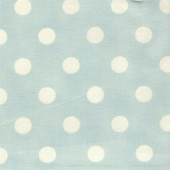 Vintage Robin Egg Blue Dottie Fabric