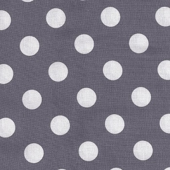 Michael Miller Gray Quarter Dot | Vintage Gray Dottie