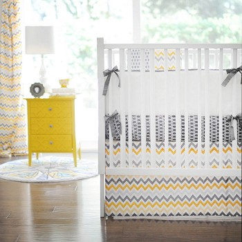 Mellow Yellow Baby Bedding