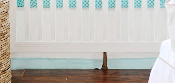 Ocean Avenue Crib Skirt