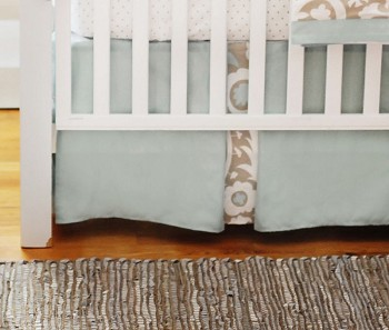 Picket Fence Crib Skirt