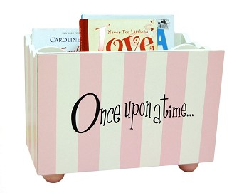Book Holders | Pink Stripe