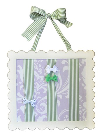Sweet Violet Barrette Holder
