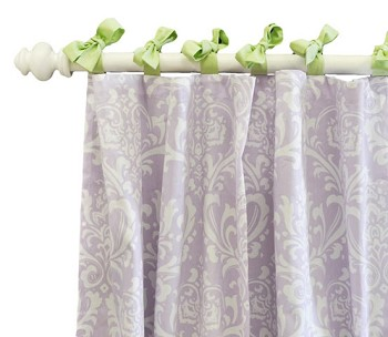 Sweet Violet Curtain Panels
