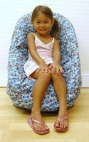 Blue Camo and Corduroy Toddler Carseat Cover