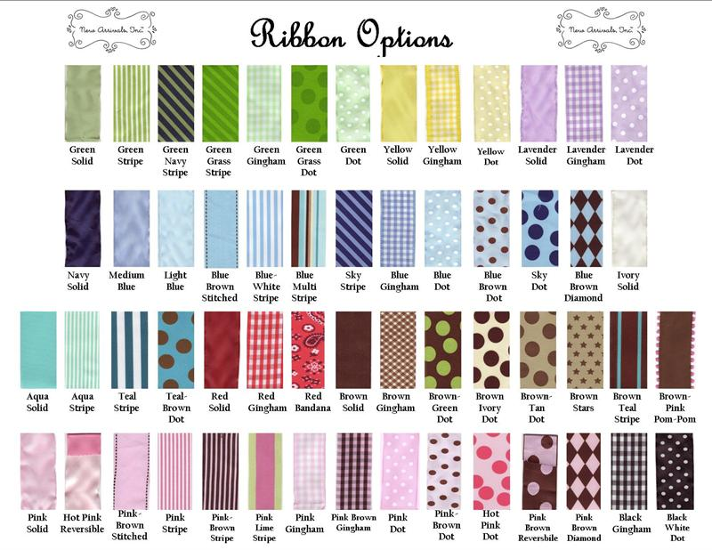 Ribbon Swatches