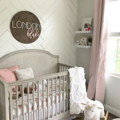 Flowers Branches Leaveore Can Add An Original Twist To Your Baby S Nursery