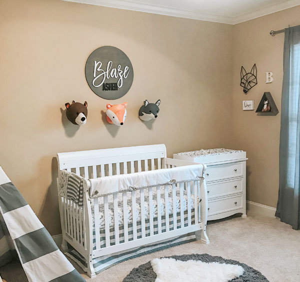 woodland nursery ideas