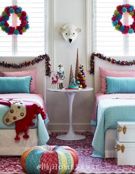 Christmas Decor for Kids Rooms & Babies | Decorating your ...