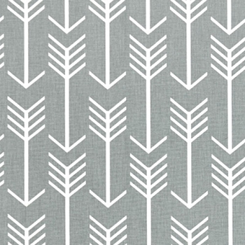 Gray Arrow Baby Sheet