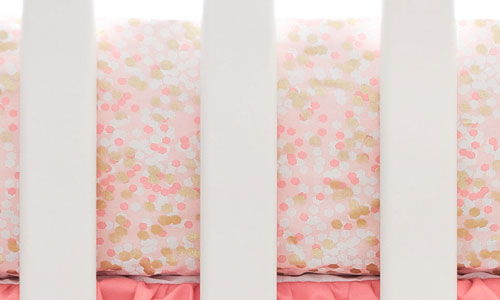 Peach & Coral Nursery Sheet