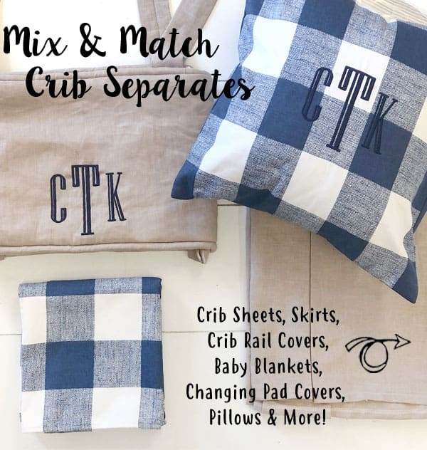 Crib Bedding Separates