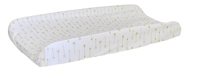 Gold Arrow Changing Pad Cover | Flight Arrow Crib Collection