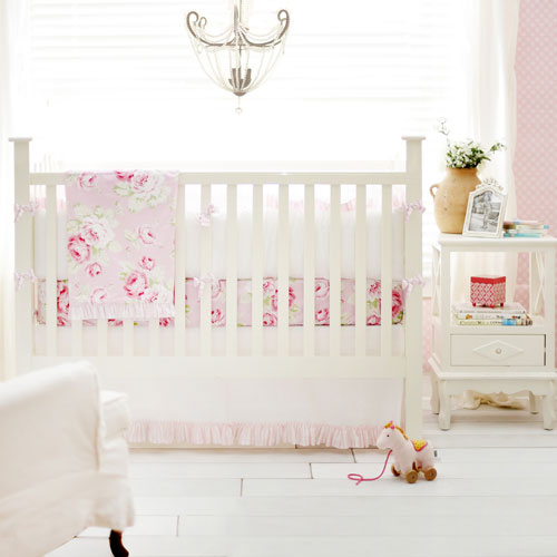 Floral Crib Baby Bedding Set Collections