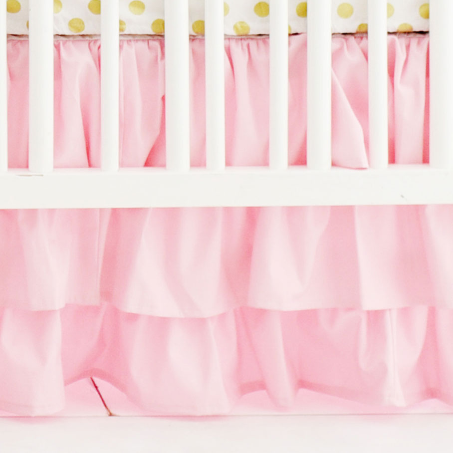 Pink Ruffled Nursery Skirt