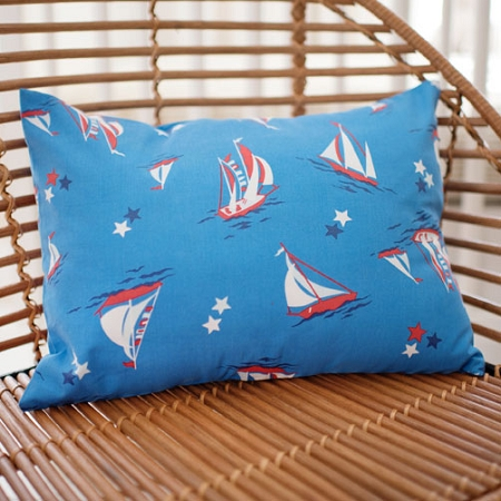 Nautical Pillow | Harbor Crib Collection