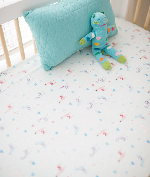 Add Some Aqua Nursery Accessories Like The Ones On This Pictured Stuffed Animal To Complete Colorful Collection