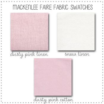 Mackenlee Faire Crib Collection Fabric Swatches Only