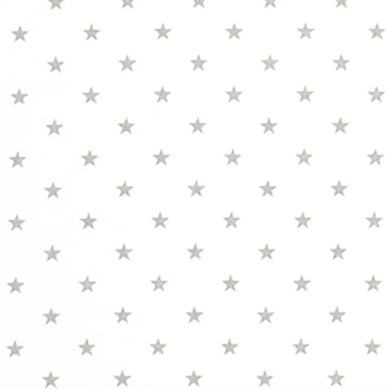 Tan Star Fabric | Premier Prints Mini Star White/Ecru Twill