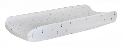 Navy Changing Pad Cover | Navy Arrow Crib Collection