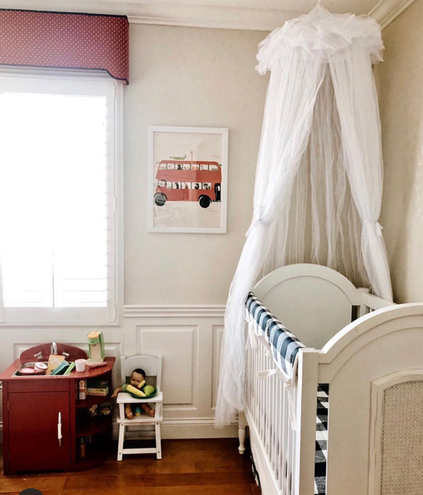 Vintage Nursery Buffalo Plaid
