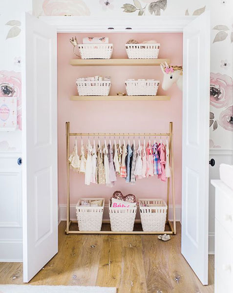 Today We Are Sharing Some Baby Closet Organization Ideas And Nursery Tips These Closets Not Only Well Organized But Beautiful