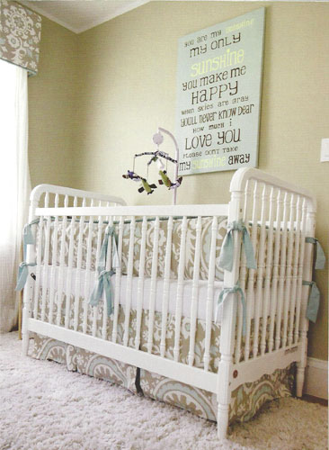 gender neutral nursery ideas | Neutral Baby Nursery