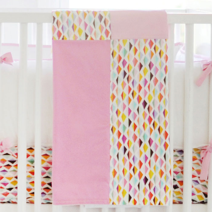 Pink Baby Blanket | Rhapsody in Pink Crib Collection