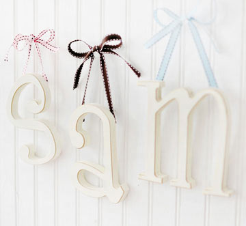 Hanging Small Letters