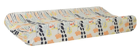 Floral Changing Pad Cover | Summer Grove Crib Collection