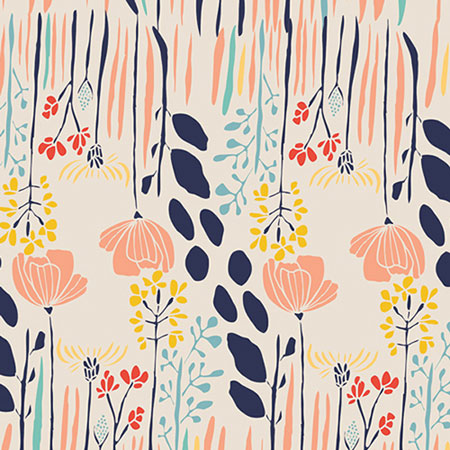 Floral Fabric | Art Gallery Summer Grove Fabric
