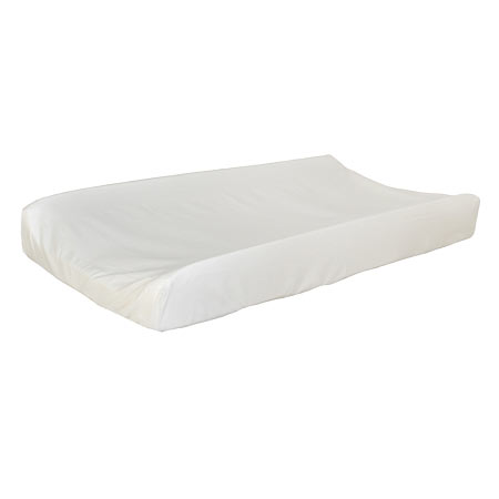 Ivory Changing Pad Cover |  Washed Linen Crib Collection