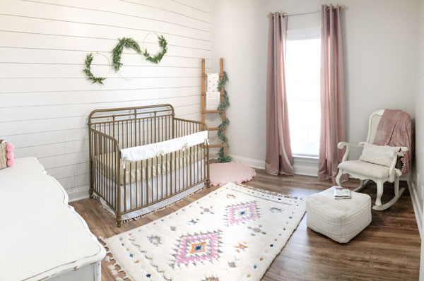 vintage nursery for a girl
