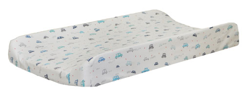 Transportation Changing Pad Cover | Vroom Crib Collection