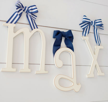 Wooden Hanging Letters Tap To Expand