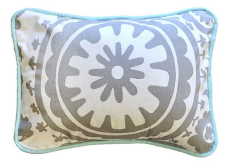 Suzani Decorative Pillow | Wink Crib Collection