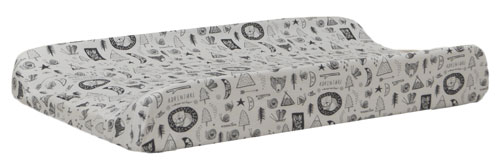 Forest Dreaming Woodland Changing Pad Cover | Adventure Awaits Collection