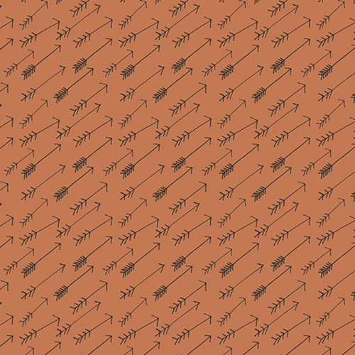 Rusty Arrow Crib Sheet