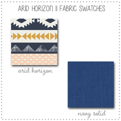 Arid Horizon 2 Crib Collection Fabric Swatches Only