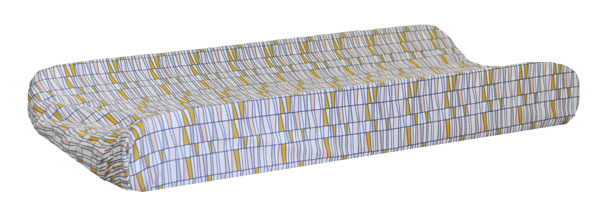 Basket of Wheat Changing Pad Cover | Woodland Oak Crib Collection