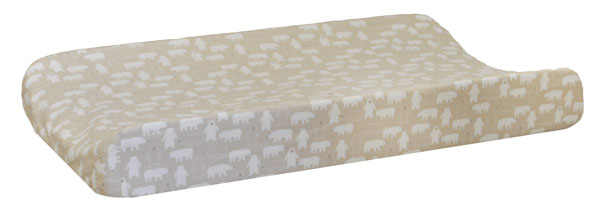 Woodland Changing Pad Cover | Bear Hug Crib Collection